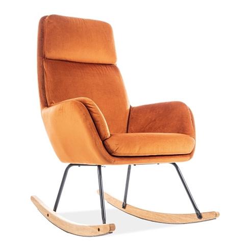 Fotel bujany Hoover pomarańczowy Signal