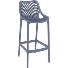 Krzesło AIR BAR 75 ciemnoszare