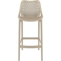 Krzesło AIR BAR 75 szarobrązowe