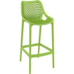 Krzesło AIR BAR 75 zielone tropikalne