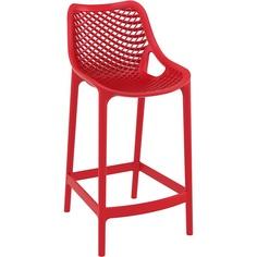 Krzesło AIR BAR 65 czerwone