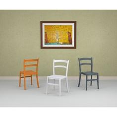 Krzesło TIFFANY ciemnoszare