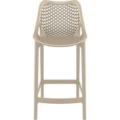Krzesło AIR BAR 65 szarobrązowe