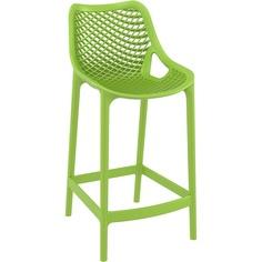 Krzesło AIR BAR 65 zielone tropikalne