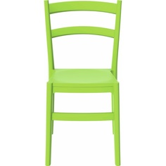 Krzesło TIFFANY zielone tropikalne