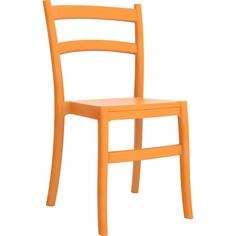 Krzesło TIFFANY pomarańczowe