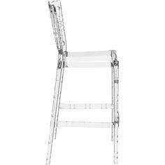 Krzesło OPERA BAR 75 przezroczyste