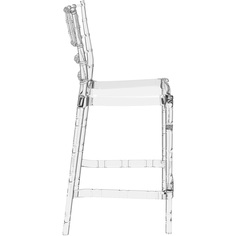 Krzesło CHIAVARI BAR 65 przezroczyste