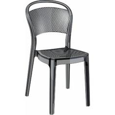 Krzesło BEE czarne przezroczyste