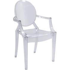 Krzesło Luis transparentny
