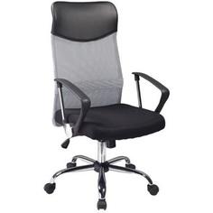 Fotel obrotowy Q-025 czarny/szary
