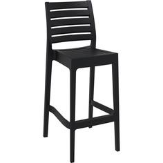Krzesło ARES BAR 75 czarne