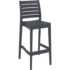 Krzesło ARES BAR 75 ciemnoszare