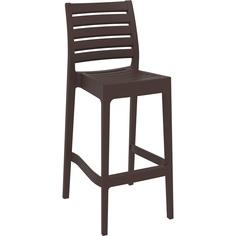Krzesło ARES BAR 75 brązowe