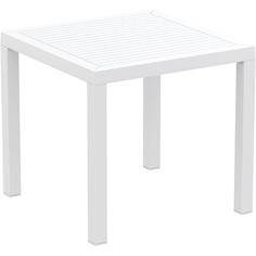 Stolik ARES 80 biały