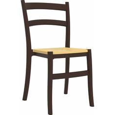 Krzesło TIFFANY-S brązowe