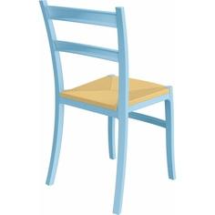 Krzesło TIFFANY-S jasne niebieskie