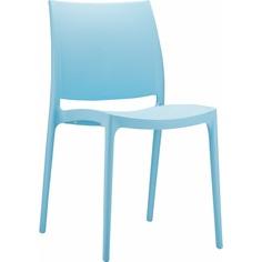 Krzesło MAYA jasne niebieskie