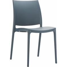 Krzesło MAYA ciemnoszare