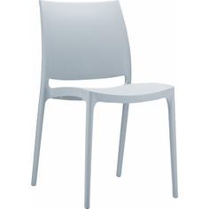 Krzesło MAYA srebrnoszare