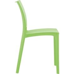 Krzesło MAYA zielone tropikalne