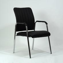 Krzesło z ekoskóry biurowe VIGOR czarne Halmar do salonu, kuchni i jadalni.