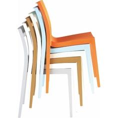 Krzesło LUCCA jasne niebieskie