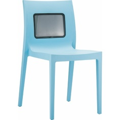Krzesło LUCCA-T jasne niebieskie