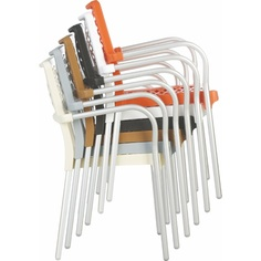 Krzesło BELLA pomarańczowe
