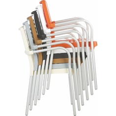 Krzesło GALA pomarańczowe