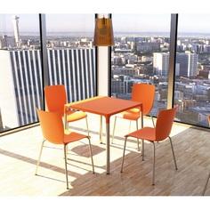Krzesło MIO pomarańczowe