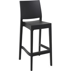 Krzesło MAYA BAR 75 czarne