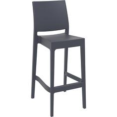Krzesło MAYA BAR 75 ciemnoszare