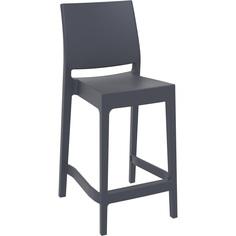 Krzesło MAYA BAR 65 ciemnoszare