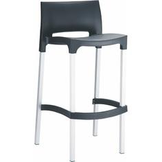 Krzesło barowe GIO czarne