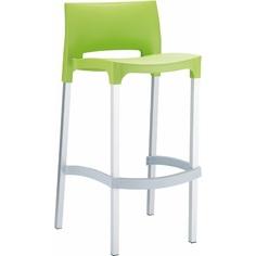 Krzesło barowe GIO jasne zielone