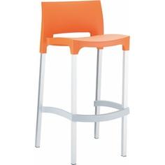 Krzesło barowe GIO pomarańczowe