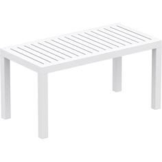 Stolik OCEAN 90X45 biały