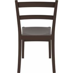 Krzesło TIFFANY brązowe