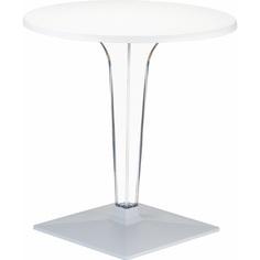 Stolik ICE 60 biały