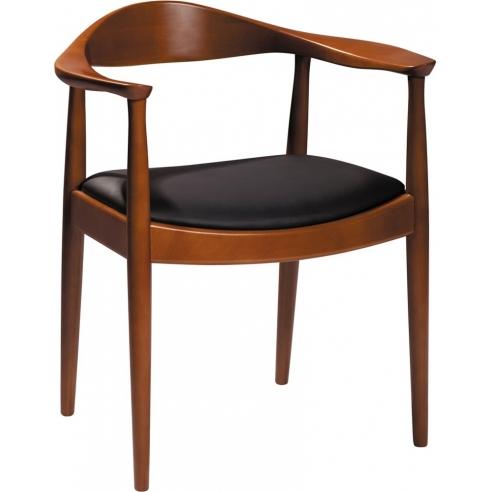 Krzesło drewniane designerskie King...