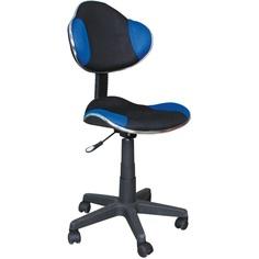 Fotel obrotowy Q-G2 niebieski / czarny