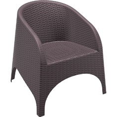 Fotel ARUBA brązowy