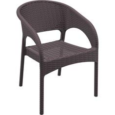 Fotel PANAMA brązowy