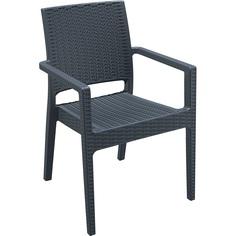 Krzesło IBIZA ciemnoszare