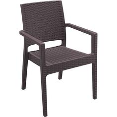 Krzesło IBIZA brązowe