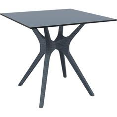 Stół IBIZA 80X80 ciemnoszary