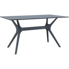 Stół IBIZA 140X80 ciemnoszary