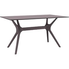 Stół IBIZA 140X80 brązowy