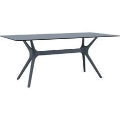 Stół IBIZA 180X90 ciemnoszary
